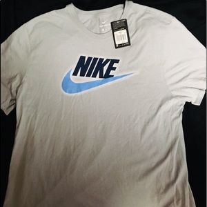 Nike Dri Fit Gray Men's Short Sleeve Shirt sz XXL
